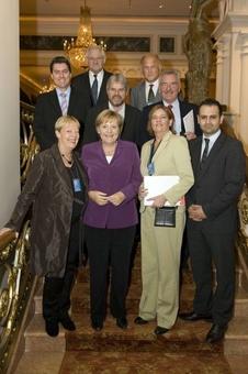 Bundestagsdelegation trifft Angela Merkel in New York